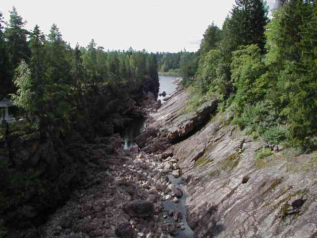 canyon in Imatra