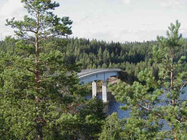 bridge from Lietvesi Look-out point